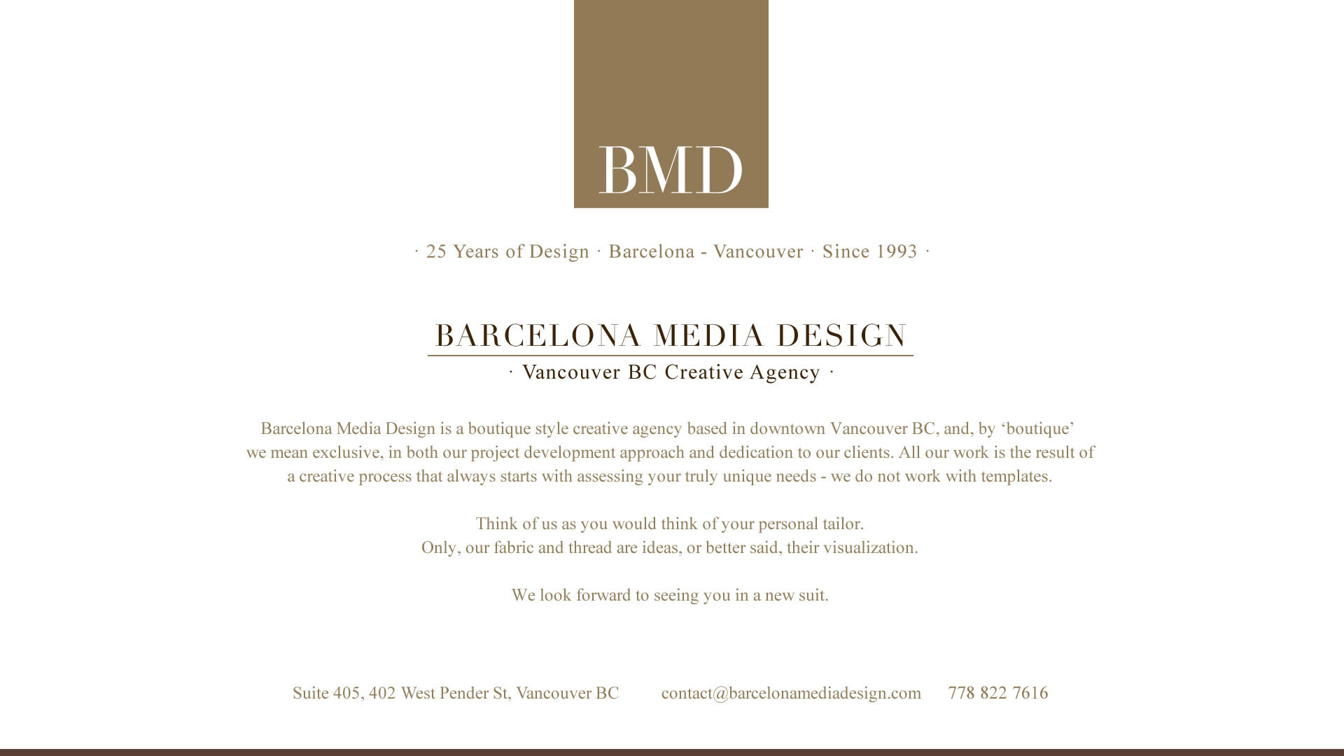 Barcelona Media Design